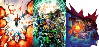 AQUAMAN & THE OTHERS #1 / ACTION/DETECTIVE COMICS #30 [Reviews]: Legacy of Justice.